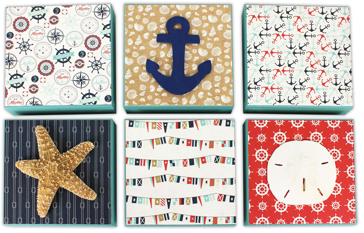 Nautical panel grouping crafts direct for Nautical projects