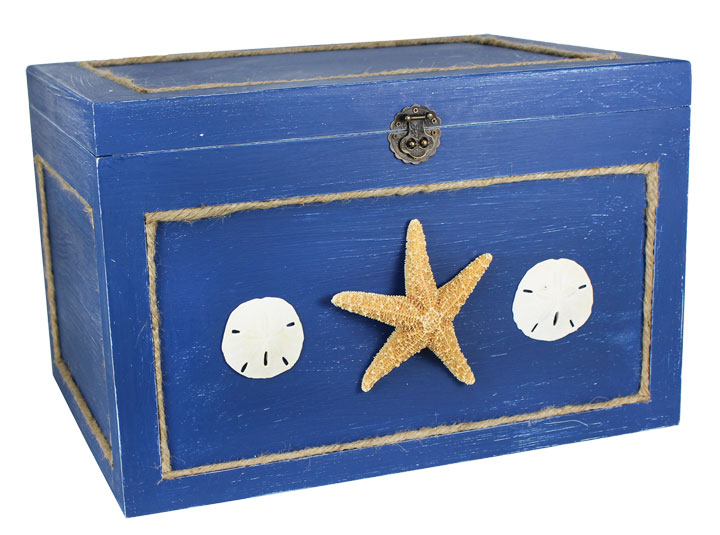 Nautical wooden chest crafts direct for Nautical projects