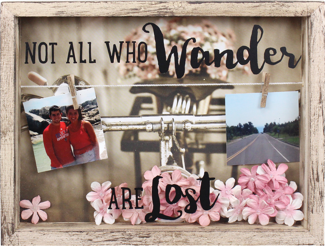 Not All Who Wander Shadowbox | Crafts Direct