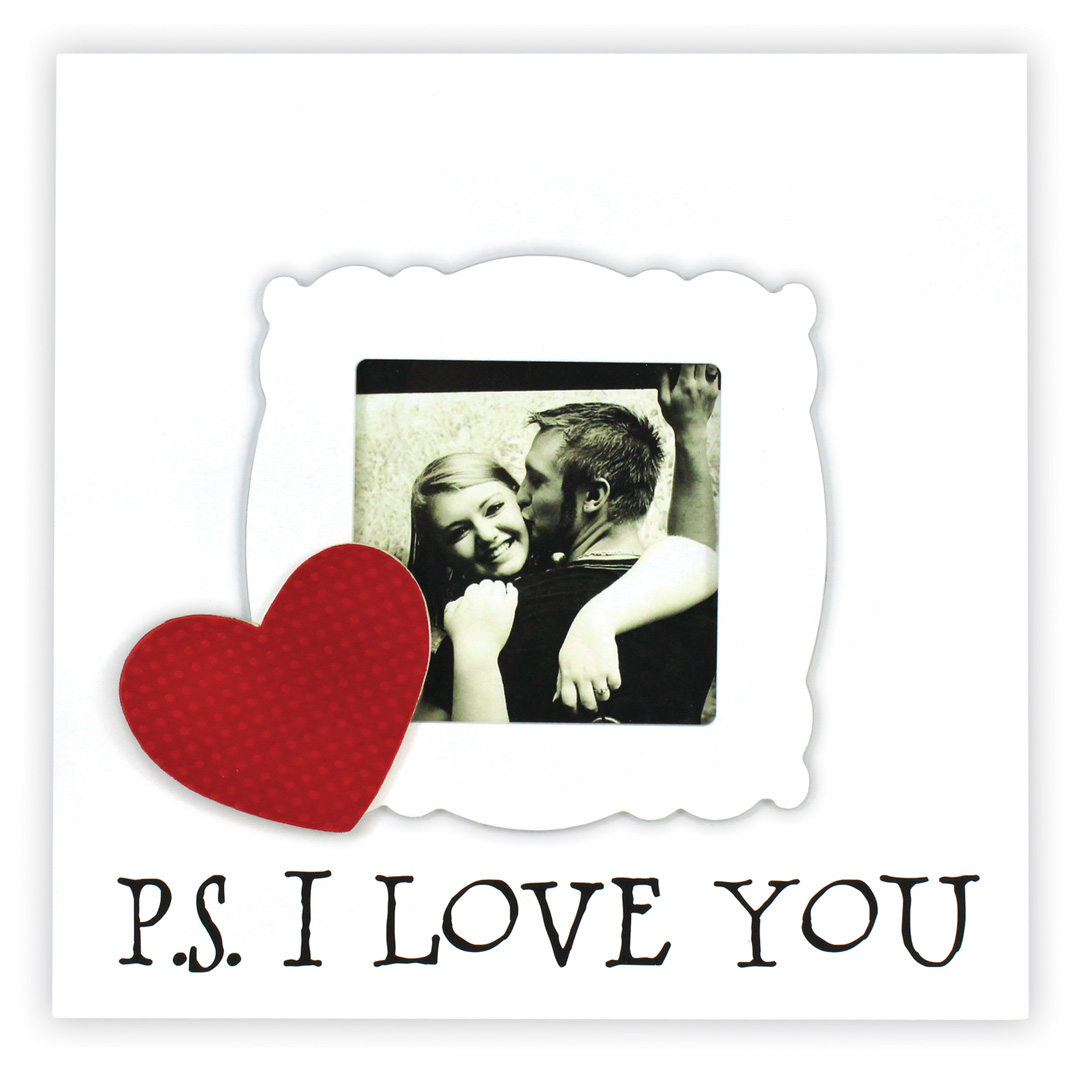 P.S. I Love You Square Frame | Crafts Direct