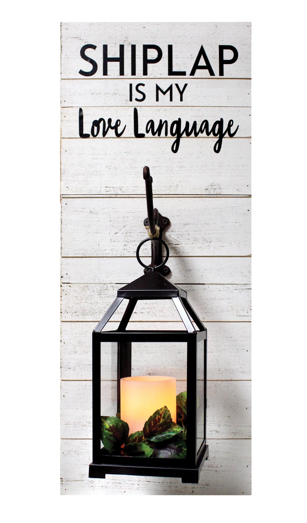 Shiplap Love Lantern Crafts Direct