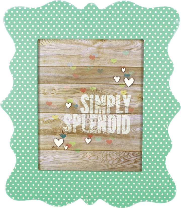 Simply Splendid Scalloped Frame | Crafts Direct