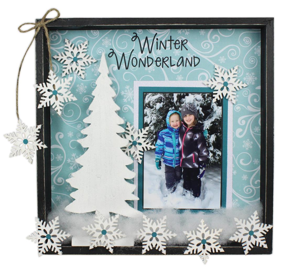 Snowflake Wonderland Frame Crafts Direct