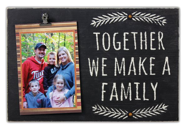 Together We Make A Family Frame