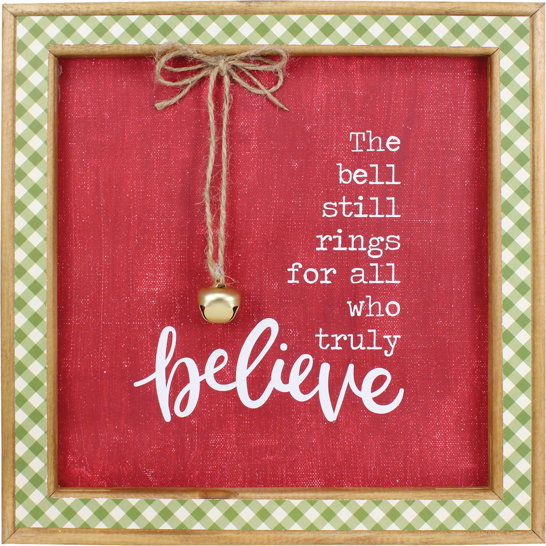 This is an image of Nerdy The Bell Still Rings for Those Who Truly Believe Printable